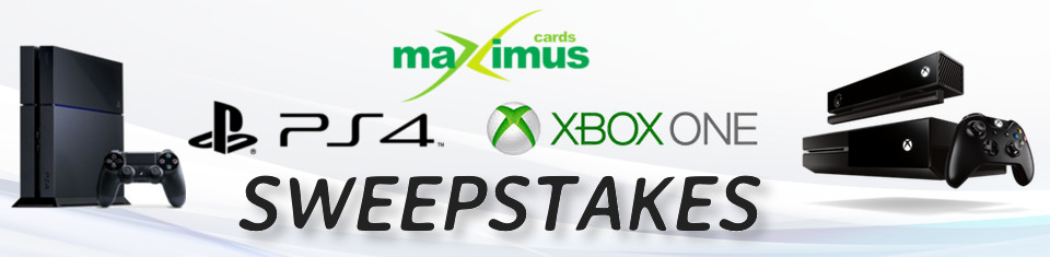 MaximusCards PS4 & XBox One Sweepstakes